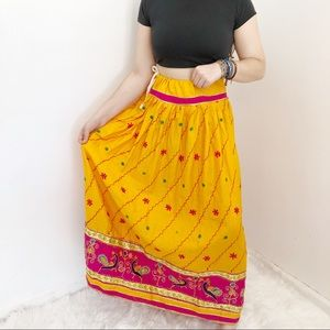 Indian Embroidered Full Skirt